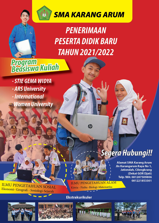 PPDB 2021/2022 SMA Karang Arum Sudah Dibuka