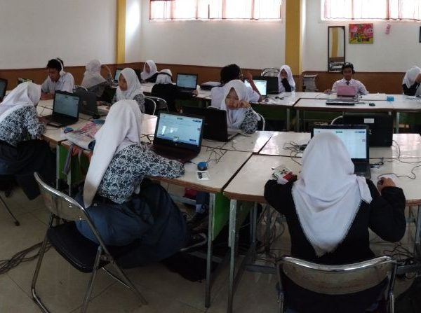 Lab Komputer SMA Karang Arum