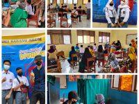 Gebyar Vaksinasi di SMP dan SMA Karang Arum, Diikuti Ratusan Siswa dan Masyarakat Umum
